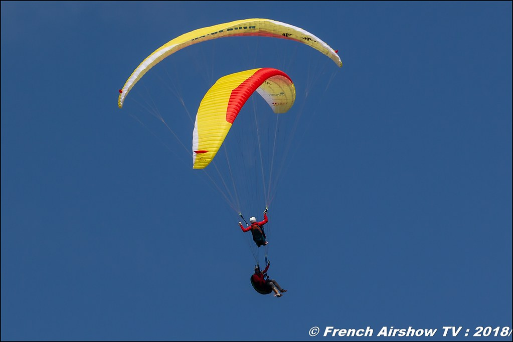 Christian parapente acrobatique Dittinger Flugtage 2018 Canon Sigma France contemporary lens Meeting Aerien 2018