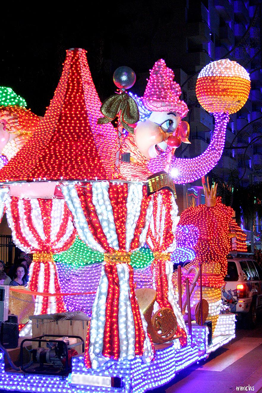 desfile de carrozas de Marina D´Or