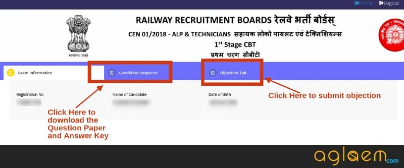 Mistakes in RRB ALP Answer Key 2018; Know step-wise instructions for submitting the objection