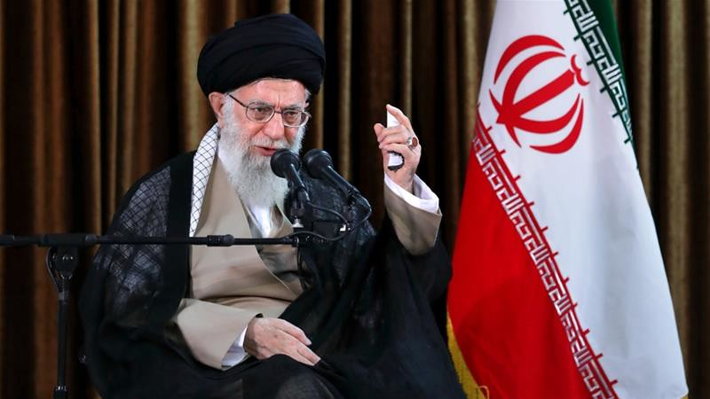 伊朗最高領袖哈米尼揚言退出核子協議。(圖片來源:Supreme Leader Press Office)