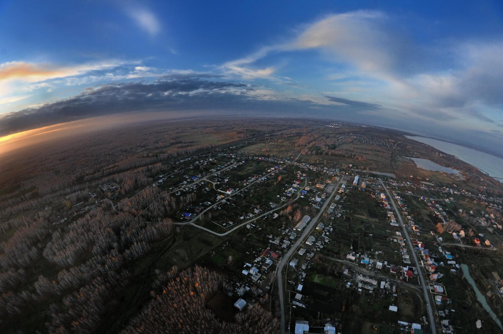 Съёмка на квадрокоптер Челябинск