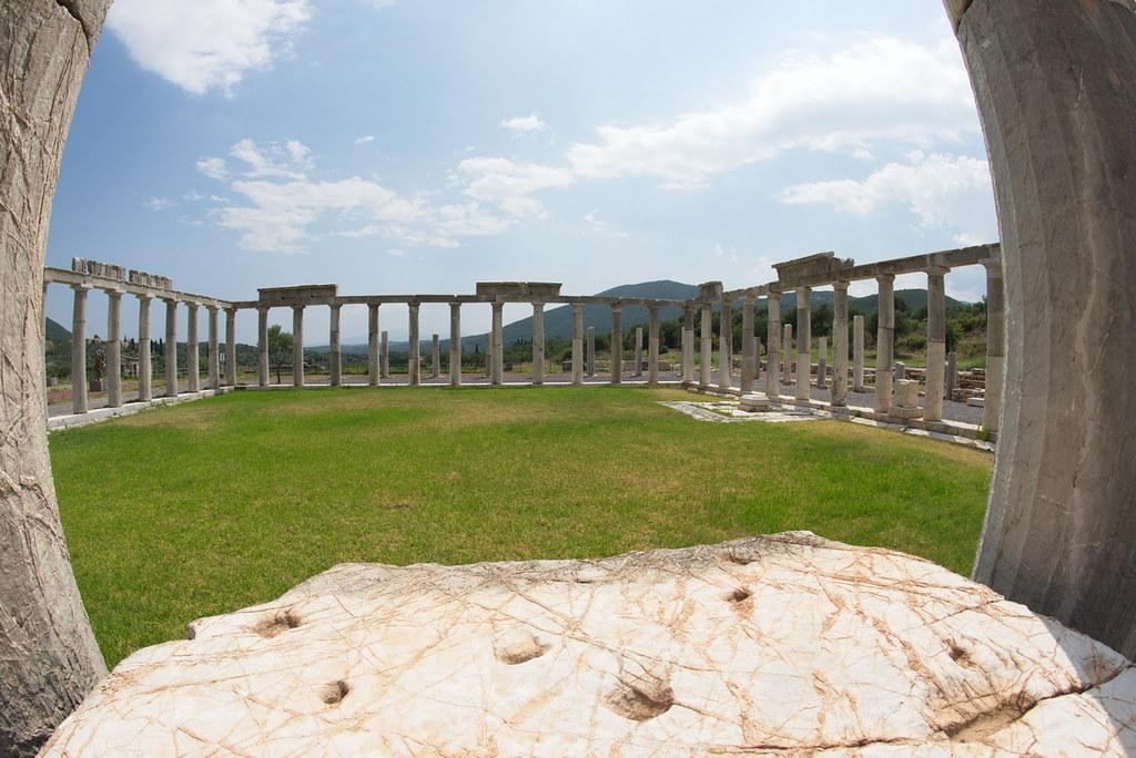 Греческая Мессини - лучший музей античности -