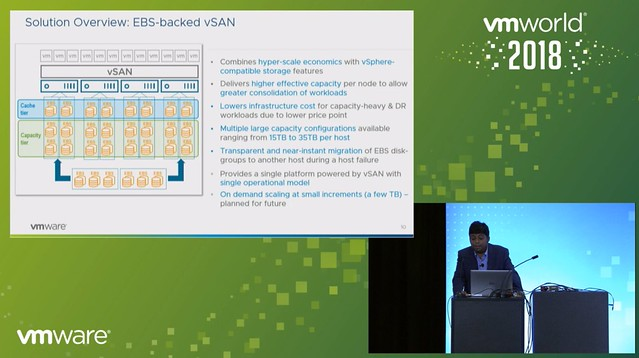 69228135b04 One thing to point out as a constraint though is that today in VMC you  can t run the management workloads on EBS backed vSAN just yet.