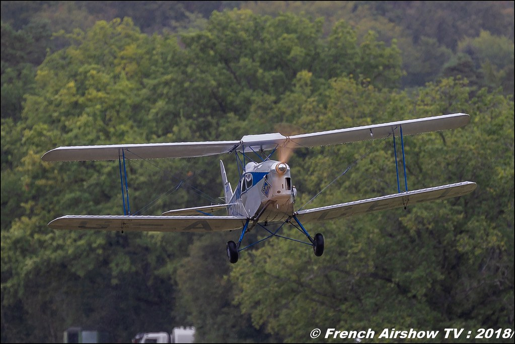 De Havilland DH.83 Fox Moth G-ACEJ Dittinger Flugtage 2018 Canon Sigma France contemporary lens Meeting Aerien 2018