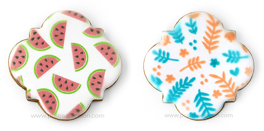 galletas decoradas estenciles