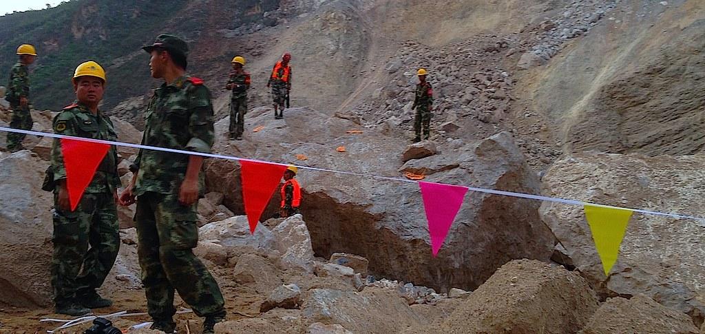 Последствия землетрясения в южном Китае, 2014 год