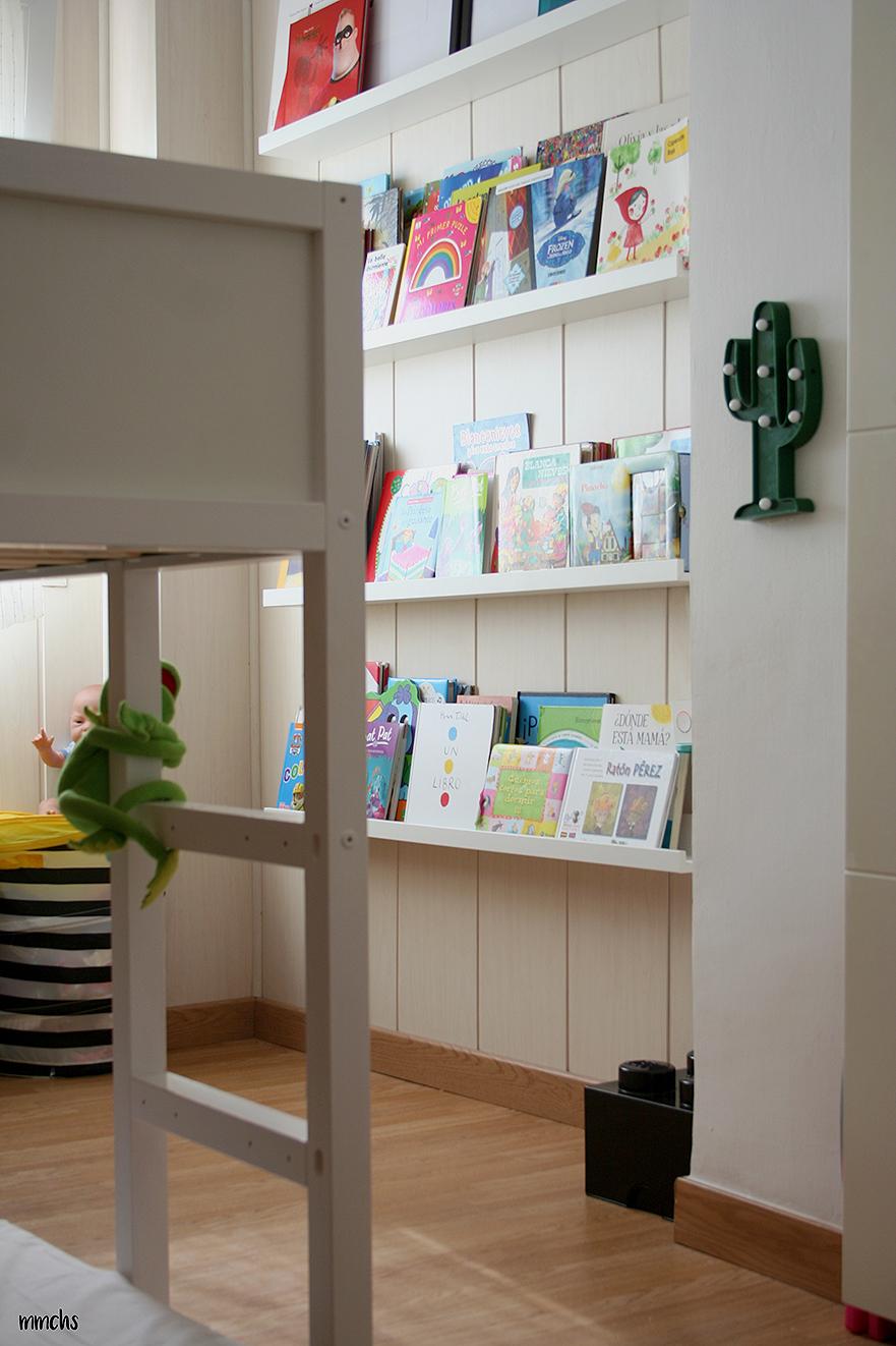 librería infantil estilo Montessori