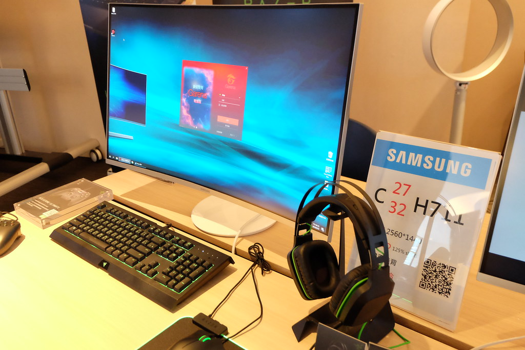 打造電競客廳 創造多工環境 Samsung X Razer 電競VIP體驗會
