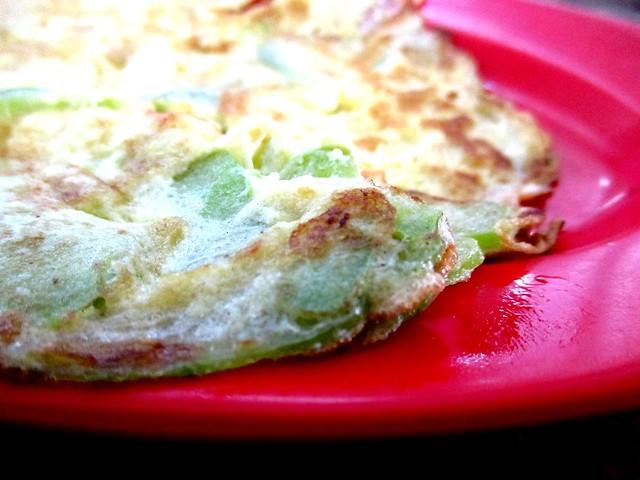 Hua Kee, Selangau bitter gourd omelette 2