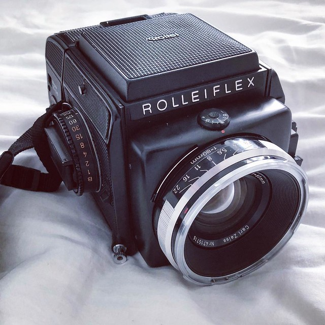 Rolleiflex 80mm f2.8 人像室內試玩
