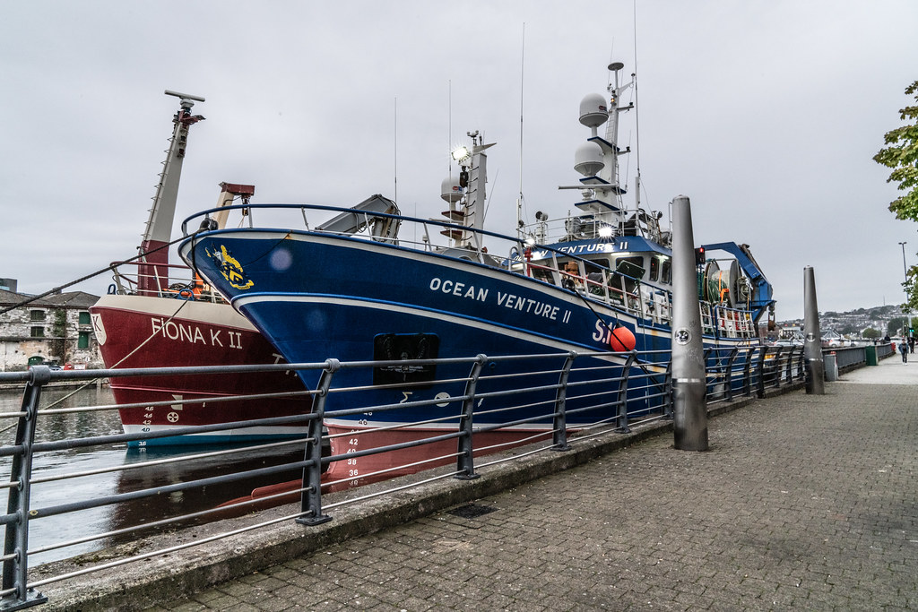 TWO TRAWLERS DOCKED AT PENROSE QUAY IN CORK 011