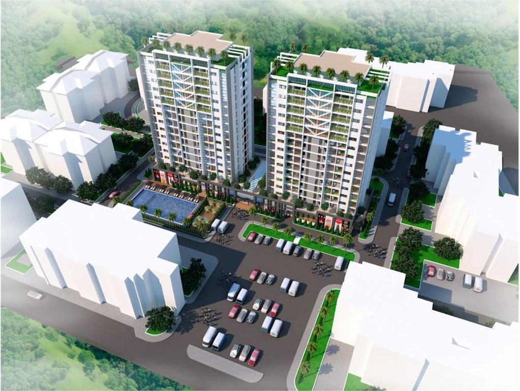 Phối cảnh căn hộ Centeria Đông Thuận