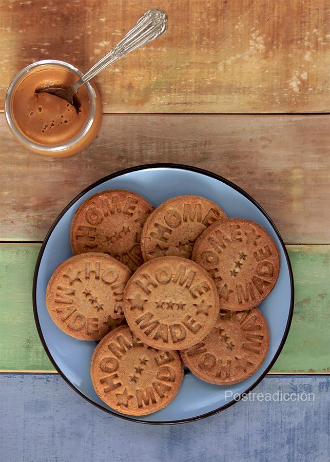 receta galletas de cacahuete
