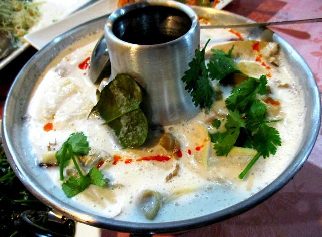Flavours Thai Kitchen tom khai kai