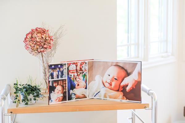赤ちゃんの笑顔のある空間はステキ