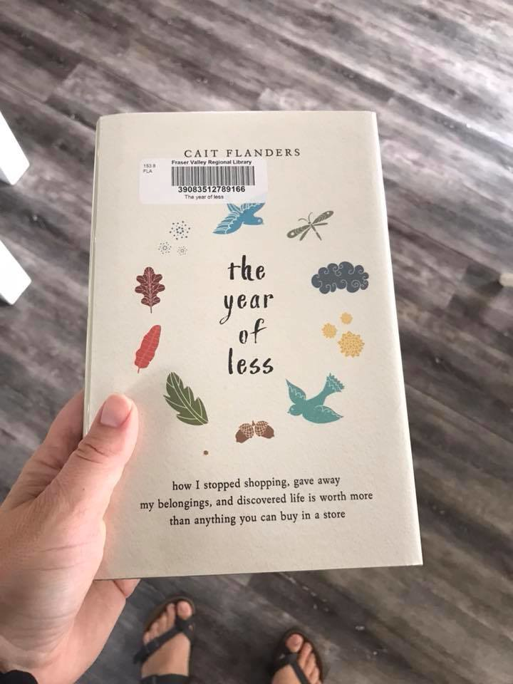 The Year of Less book by Cait Flanders