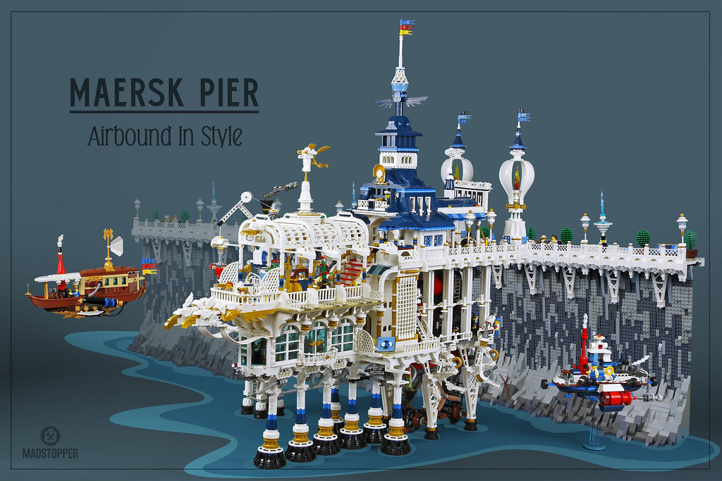 Maersk Pier is a majestic port that is sure to marvel all | The Brothers Brick