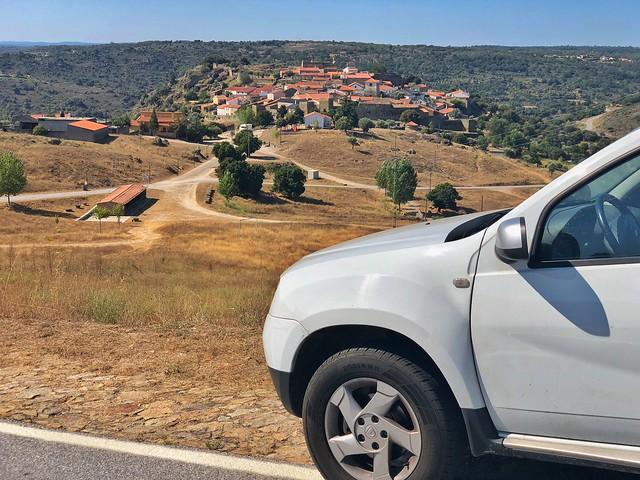 Ruta en coche por las fortificaciones fronterizas entre Portugal y Salamanca