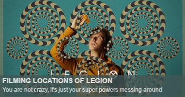 Where is legionfilmed