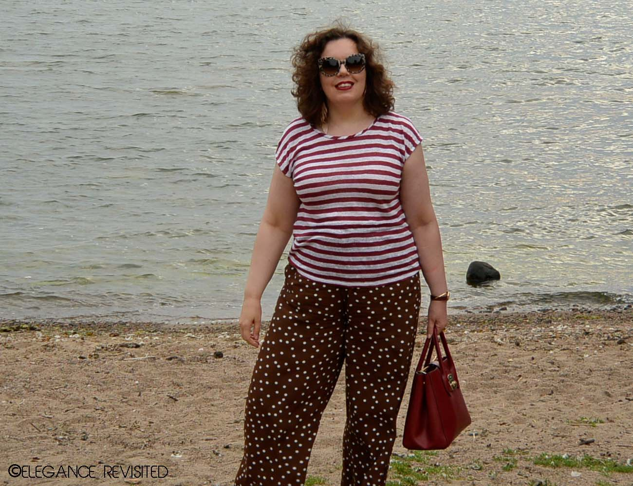 how to wear palazzo pants over 40
