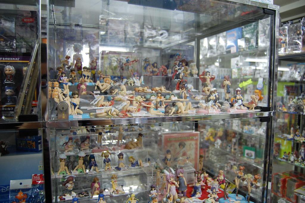 Muñecos manga en Tokyo