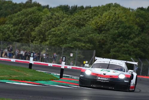 Michael Christensen - Kevin Estre, Porsche 911 RSR, FIA World Endurance Championship, Silverstone 2018
