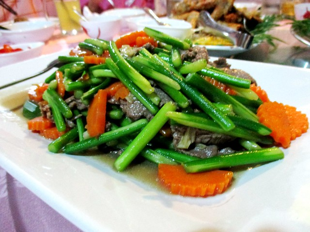 Asparagus with beef