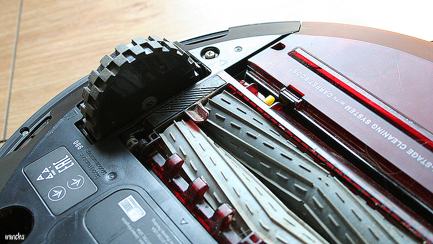 ruedas y rodillos de la Roomba 980 iRobot