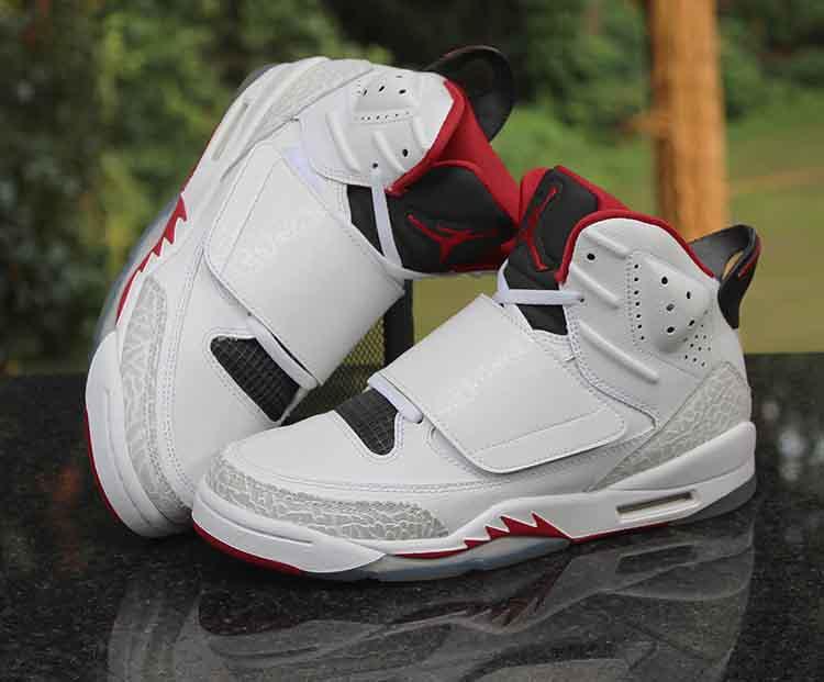 2ab0ea2d0ca6 Air Jordan Son of Mars Kids White Red Black 512246-112 Siz…