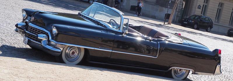 Cadillac série 62 cabriolet 1955 ex Fabiola et Baudouin  30557059418_907ee7d432_c