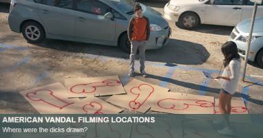 Where is american vandal filmed