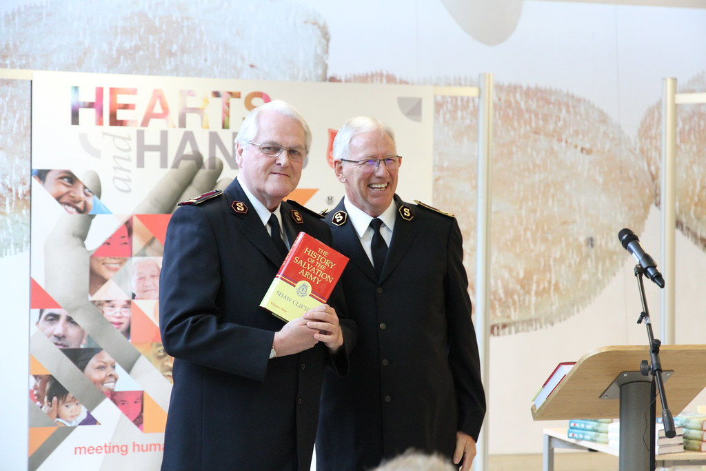 General Clifton (Rtd) book launch