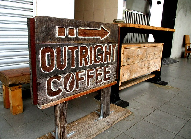 Outright Coffee, this way