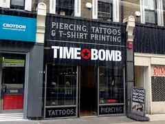 Time Bomb, Croydon, London CR0