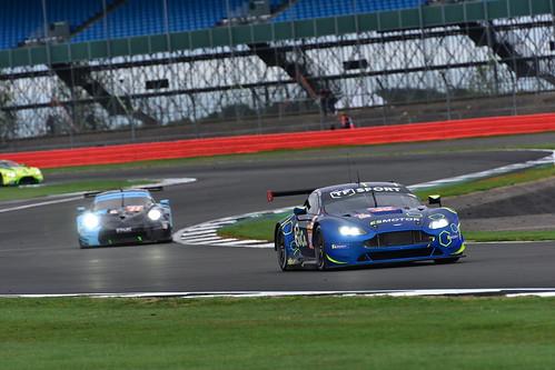 Salih Yoluc - Jonathan Adam - Charles Eastwood, Aston Martin Vantage, FIA World Endurance Championship, Silverstone 2018