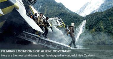Dónde se rodó Alien Covenant