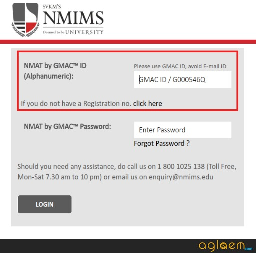 NMIMS Registration 2019