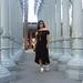 black off the shoulder dress, round rattan bag, urban light-11.jpg
