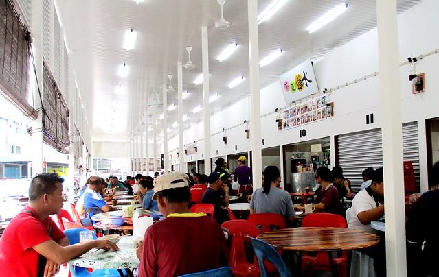 Sg Antu hawker centre, stalls