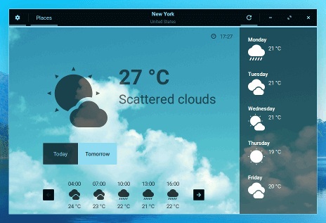 Zorin-os-weather