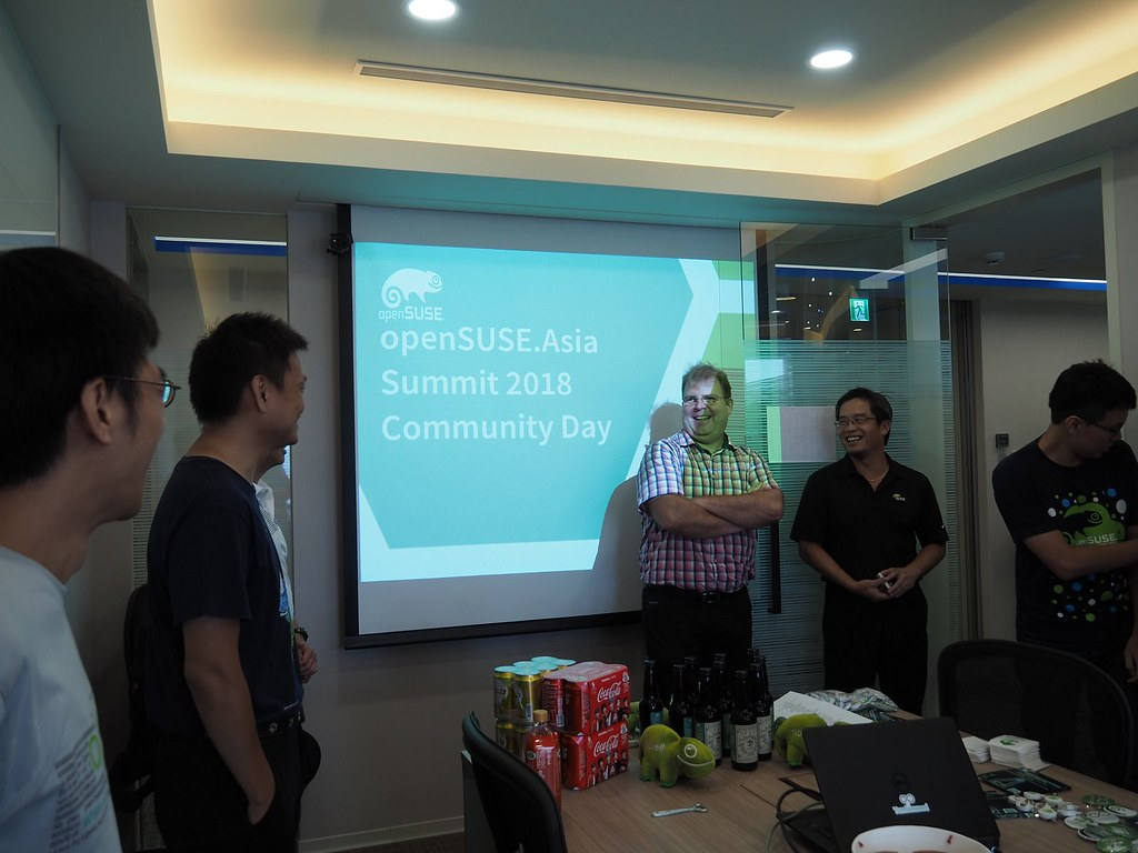 openSUSE.Asia Community Day that I didn't attend this morning :(