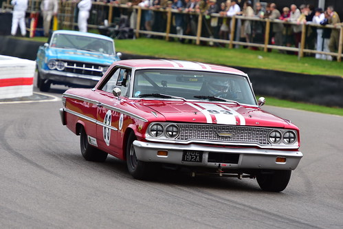Jason Plato - Ben Mitchell, Ford Galaxie 500, St Mary's Trophy, Goodwood Revival 2018