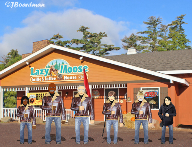 "The ""Lazy Moose"" Restaurant ©JBoardman"