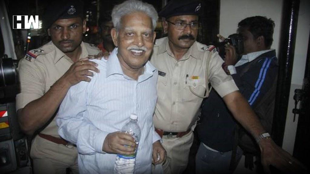 印度左翼诗人瓦拉瓦拉・拉奥上月28日被警方逮捕,之后并遭软禁在家。(图片来源:HWNews)