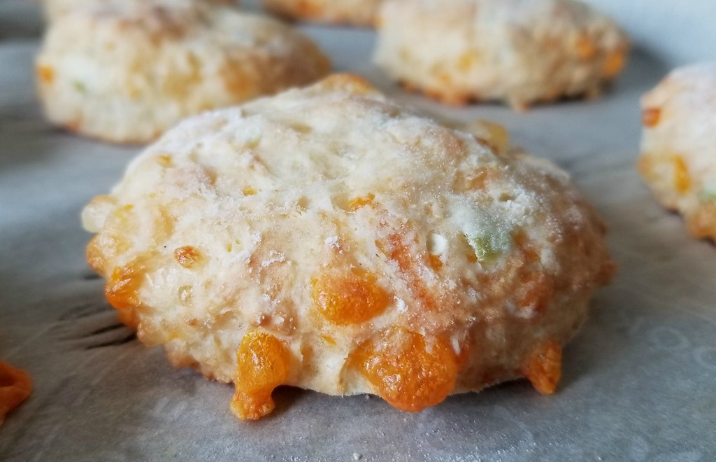 Cheese & Chile Pepper Biscuits