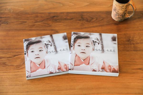 アルバム カバーにも写真を印刷