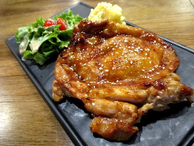 Caffeinie Cafe yakitori chicken chop
