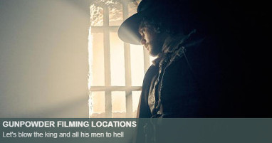 Where is gunpowder filmed