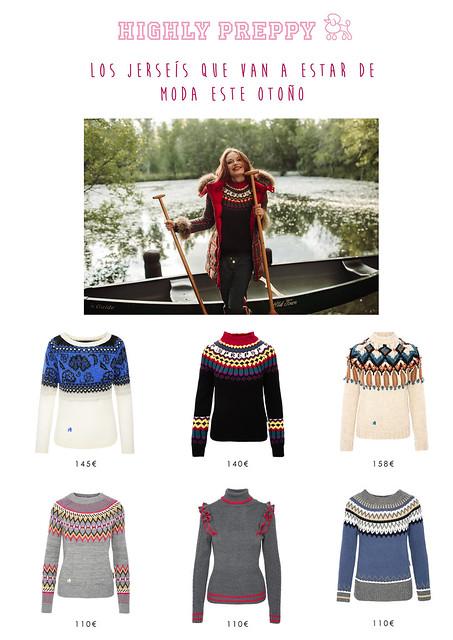 Los jerseys de Highly Preppy que van a estar de moda este otoño