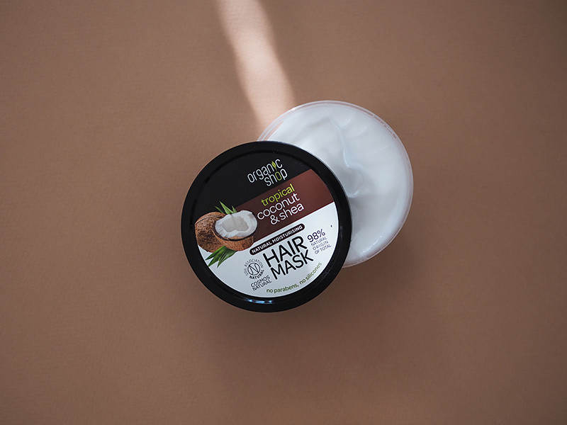 Organic Shop Coconut & Shea hair mask